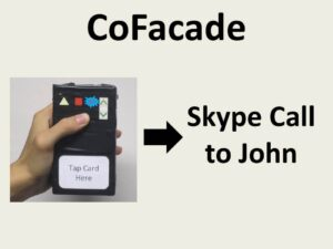 CoFacade: A Customisable Assistive Approach for Elders and Their Helpers