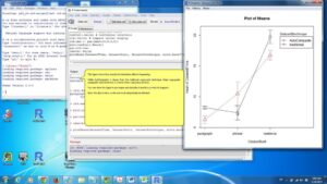 Using R, Rcmdr, and Ez for ANOVA analysis