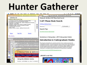 Hunter Gatherer: Interaction Support for the Creation and Management of Within-Web-Page Collections