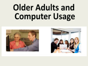 Older Adults and Computer Usage: Common Activities and Essential Applications