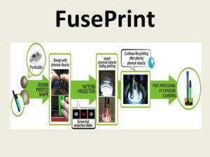 FusePrint: A DIY 2.5D Printing Technique Embracing Everyday Artifacts