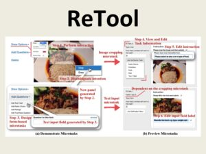 ReTool: Interactive Microtask and Workflow Design through Demonstration