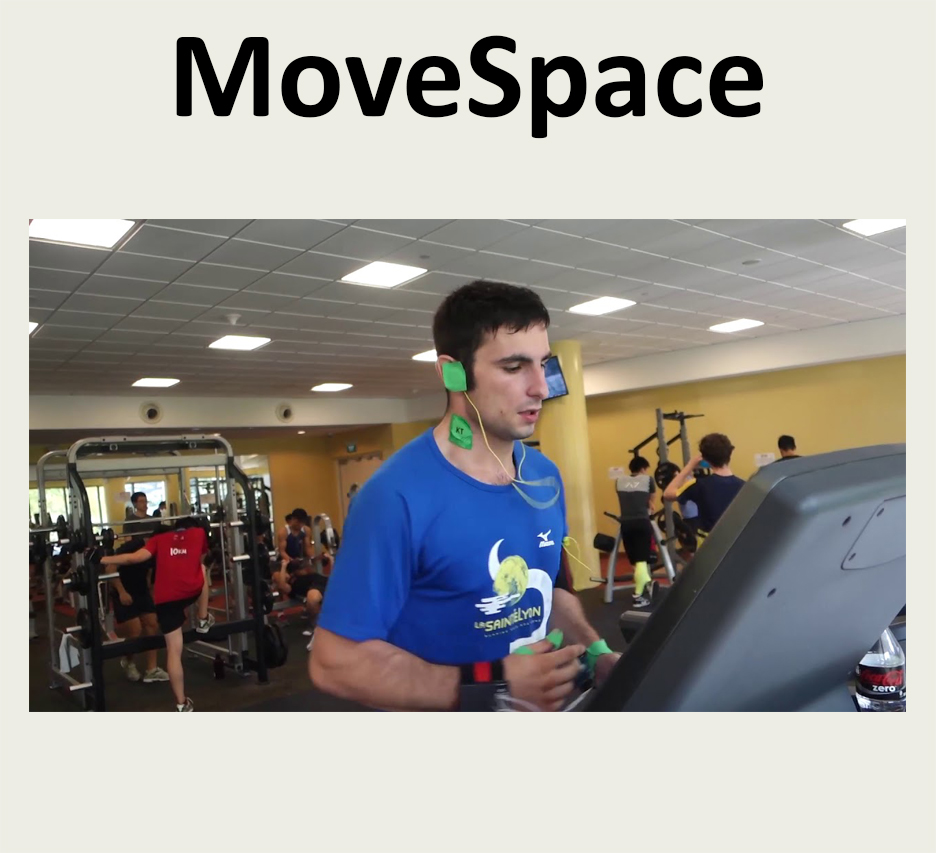 MoveSpace: On-body Athletic Interaction for Running and Cycling