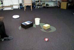 Designing Laser Gesture Interface for Robot Control