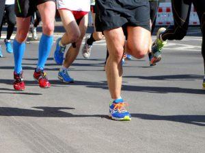 A/P SHENGDONG Zhao Break 2 in His Half Marathon